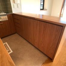 キッチン家電収納カウンター