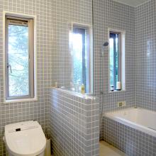 鎌倉自邸・浴室